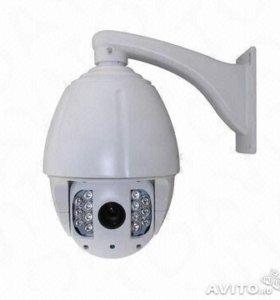 Скоростная купольная цветная антивандальная камера