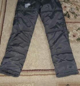 Балоневые штаны новые женские зима