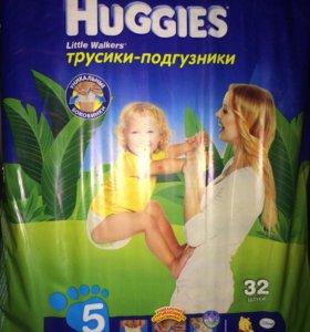 Трусики Хаггис для мальчиков 13-17 кг 32 шт