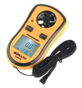 Анемометр-термометр