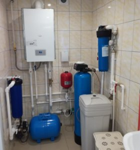 Отопление, водоснабжения, канализация.