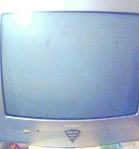 Телевизор rubin(рабочий,цветной)