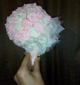 Конфетные цветы