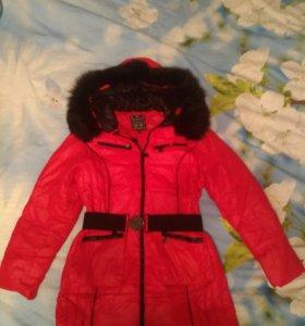 Пуховик пальто зимний женский (Новый)