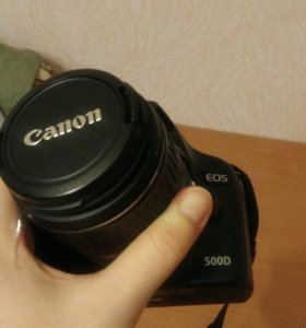 Фотоаппарат eos500d