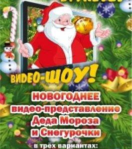 НОВОГОДНЕЕ ВИДЕО-ПРЕДСТАВЛЕНИЕ Деда Мороза