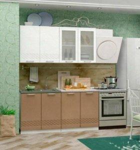 """Кухня """"Капучино""""(волна)"""