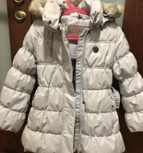 Зимнее полупальто Reima (рост 110 см)
