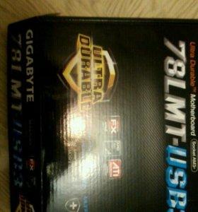 Материнская плата Gigabyte 78 LMT-USB3