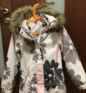 Зимняя куртка и полукомбинезон Reimatec (рост 122)