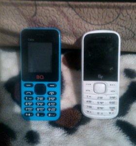 Продам 2 телефона BQ и Fly