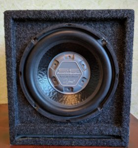 Саб Audiobahn номинал 300W