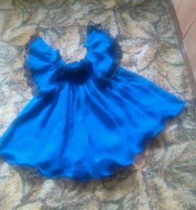 Платье на 5-7 мес