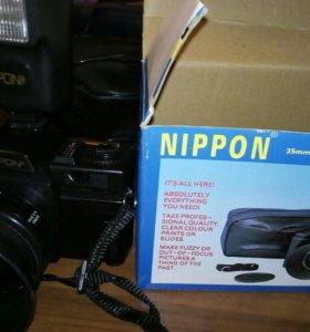Фотоаппарат японский, рабочий,пленочный