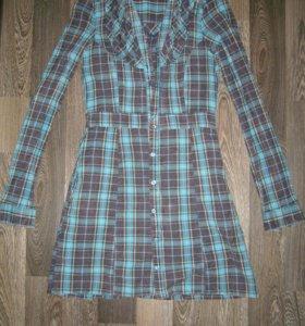 Платье-рубашка,новое