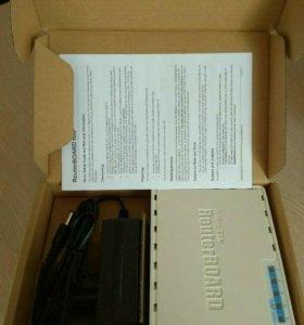 Новый WiFi роутер mikrotik hap(RB951Ui-2nD)