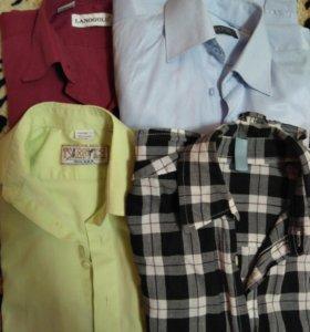 Рубашки для мальчика 9-10л
