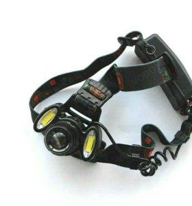 Светодиодный налобный фонарь