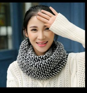 Новый шарф-хомут