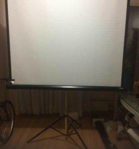 Экран для проектора на штативе 178х178 Da-lite