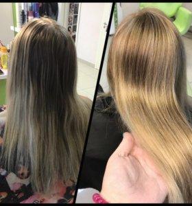 Парикмахерские услуги(парикмахер)