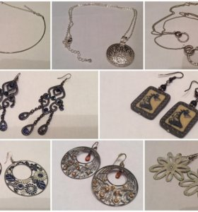 Бижутерия, украшения, подвески, браслеты