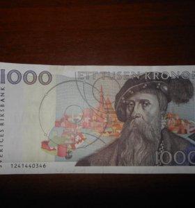 1000 кр. Швеция