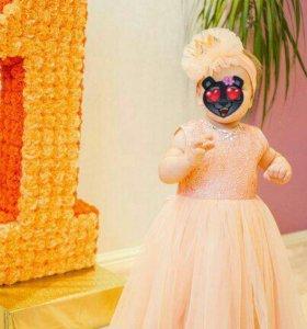 Платье и повязка на голову
