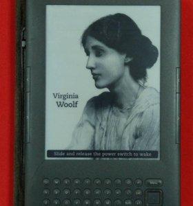 Электронная книга с Amazon Kindle 3 Wi-Fi + 3G