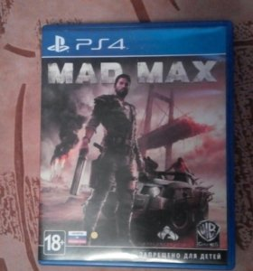 Mad max for PS 4