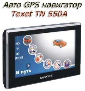 навигатор texet tn-505
