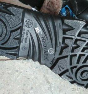 Ботинки зимние техноавиа новые