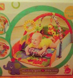 Новый развивающий коврик для малыша