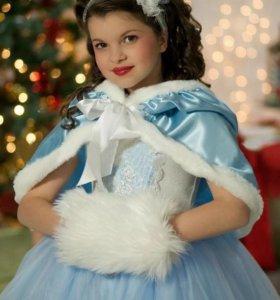 Новое нарядное платье для девочки. Прокат возможен