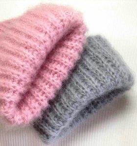 Вяжу шапки снуды