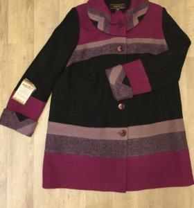 Пальто женское 56размера
