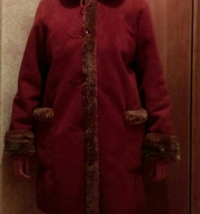 Дубленка, зимнее полупальто, пальто
