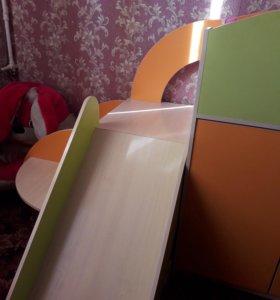 Чердак кровать