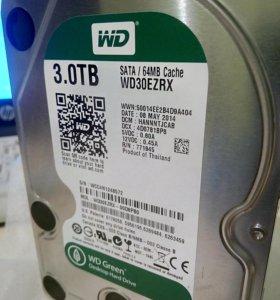 Жесткий диск WD модель WD30EZRX