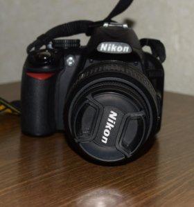 Зеркальный фотоаппарат Никон д3100