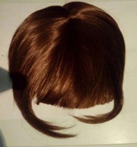 Волосы, парик-челка.