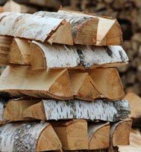 дрова в зарайске береза колотые рубленые