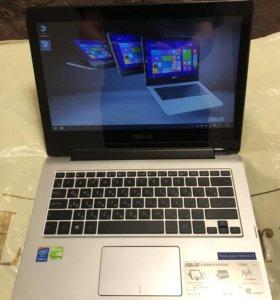 Ноутбук-трансформер asus,сенсорный,игровой,core i3