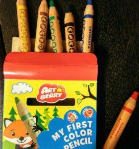 Цветные карандаши и творческие наборы