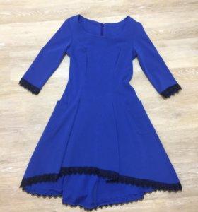 Платье плотное р.42-44