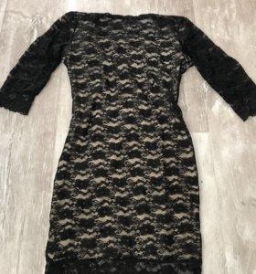 Платье кружевное новое🖤