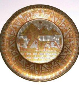 3 коллекционных Тарелки из Египта