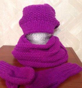 Шапки, шарфы,снуды, варежки