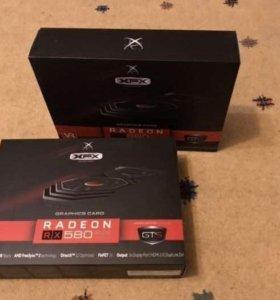 Видеокарта Radeon XFX RX 580 на 8 gb