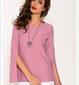 Блузка Maria Alkina цвет розовый